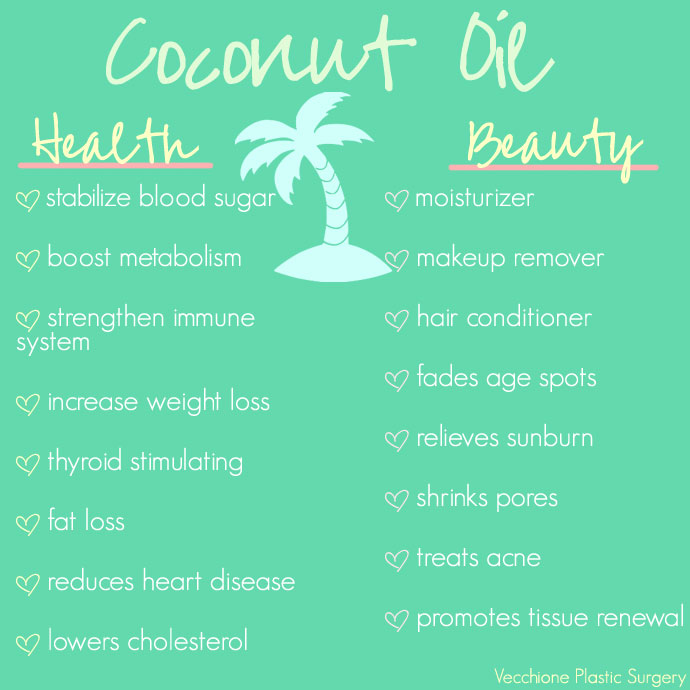 Vecchione-Plastic-Surgery-Health-And-Beauty-Benefits-Of-Coconut-Oil-Image
